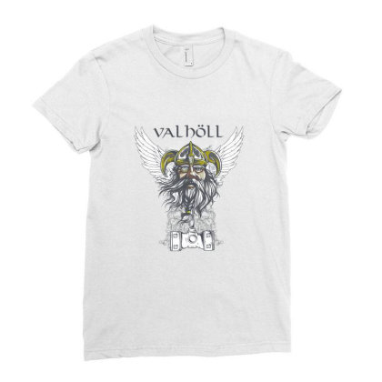 Viking Ladies Fitted T-shirt Designed By Estore