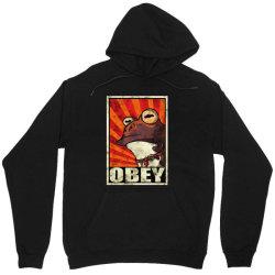 obey the hypnotoad Unisex Hoodie | Artistshot