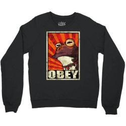 obey the hypnotoad Crewneck Sweatshirt | Artistshot