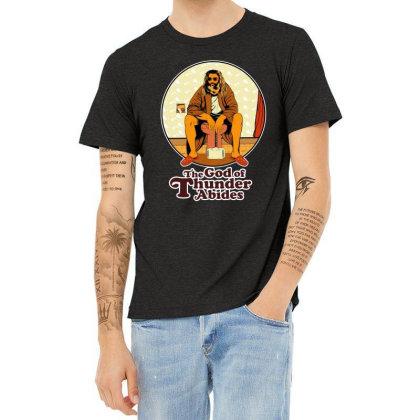 The God Of Thunder Abides Heather T-shirt Designed By Tillyjemima Art