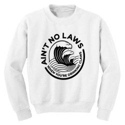 trevor wallace white claw for light Youth Sweatshirt | Artistshot