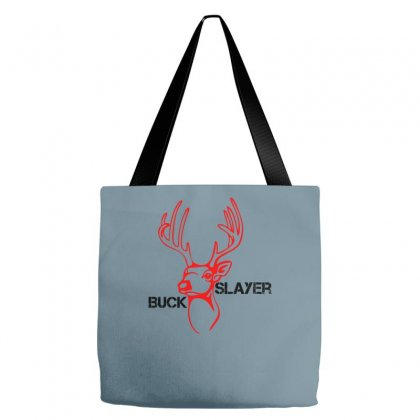 Buck Slayer Tote Bags Designed By Chilistore