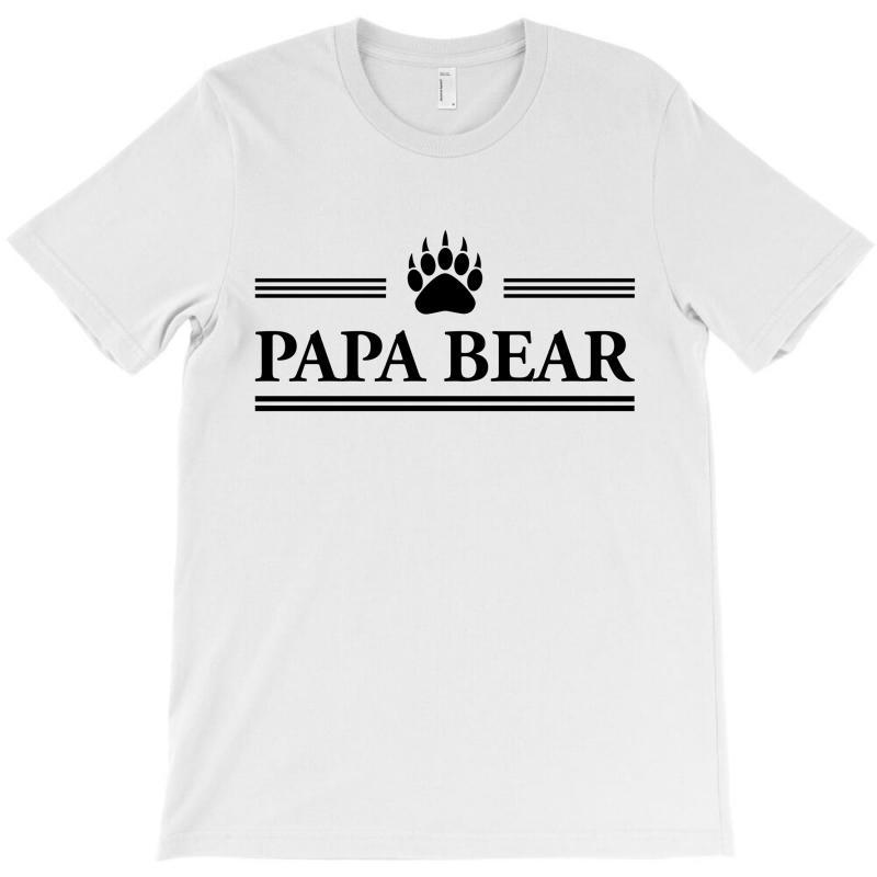 Papa Bear T-shirt | Artistshot