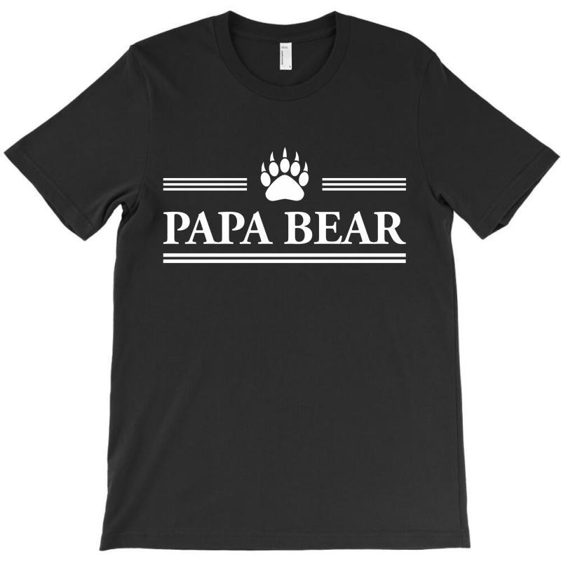 Papa Bear T-shirt   Artistshot