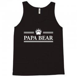 Papa Bear Tank Top   Artistshot