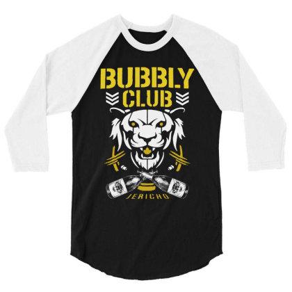Bubbly Club 2019 3/4 Sleeve Shirt Designed By Tillyjemima Art