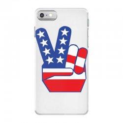 Peace Sign Hand iPhone 7 Case | Artistshot
