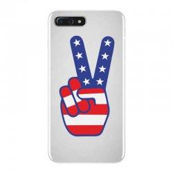 Peace Sign Hand iPhone 7 Plus Case | Artistshot