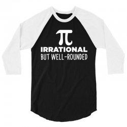 Pi 3/4 Sleeve Shirt   Artistshot