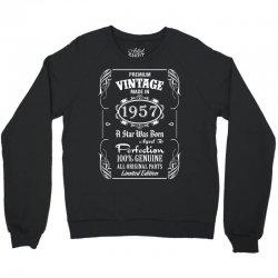Premium Vintage Made In 1957 Crewneck Sweatshirt   Artistshot