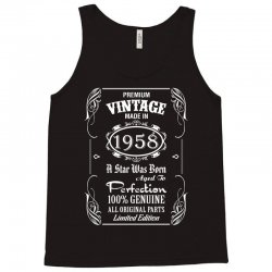Premium Vintage Made In 1958 Tank Top | Artistshot