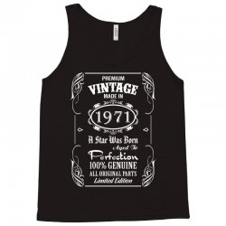Premium Vintage Made In 1971 Tank Top   Artistshot
