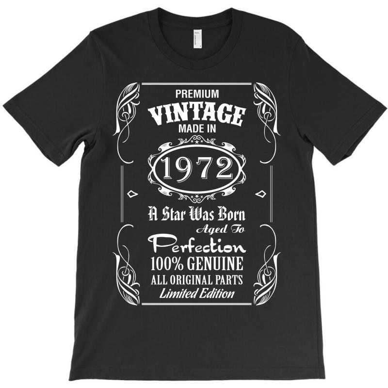 Premium Vintage Made In 1972 T-shirt | Artistshot
