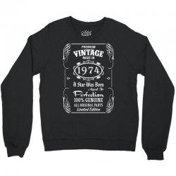 Premium Vintage Made In 1974 Crewneck Sweatshirt   Artistshot