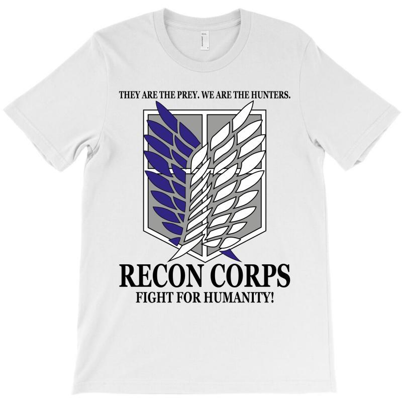 Recon Corps- Attack On Titan T-shirt | Artistshot