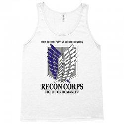 Recon Corps- Attack on Titan Tank Top | Artistshot
