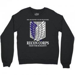 Recon Corps- Attack on Titan Crewneck Sweatshirt   Artistshot