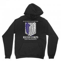 Recon Corps- Attack on Titan Unisex Hoodie   Artistshot
