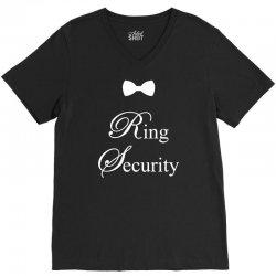 Ring Security V-Neck Tee | Artistshot
