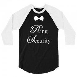 Ring Security 3/4 Sleeve Shirt | Artistshot