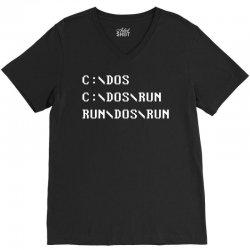 Run, Dos, Run! V-Neck Tee | Artistshot