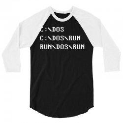 Run, Dos, Run! 3/4 Sleeve Shirt | Artistshot