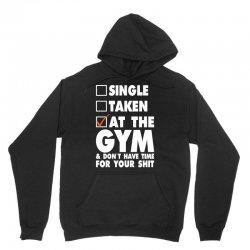 Single Taken At The Gym Unisex Hoodie   Artistshot