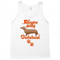 Sleeps With Dachshund Tank Top | Artistshot