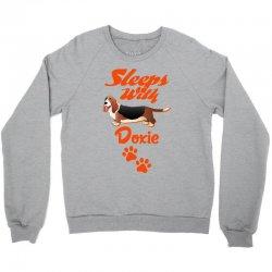 Sleeps With Doxie Crewneck Sweatshirt | Artistshot