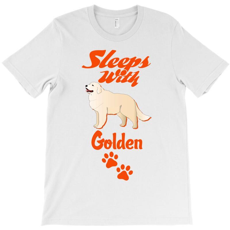 Sleeps With Golden T-shirt | Artistshot