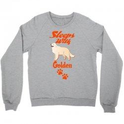 Sleeps With Golden Crewneck Sweatshirt | Artistshot