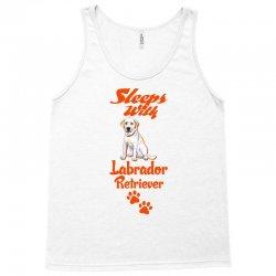 Sleeps With Labrador Retriever Tank Top | Artistshot