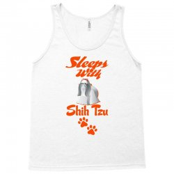 Sleeps With Shih Tzu Tank Top | Artistshot