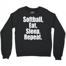 Softball Life Crewneck Sweatshirt | Artistshot
