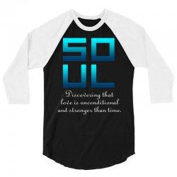 Soul (Soul + Mate Couples Design) 3/4 Sleeve Shirt | Artistshot