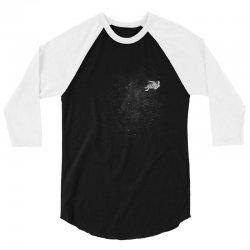 SPACE 3/4 Sleeve Shirt   Artistshot