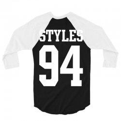 Styles 94 3/4 Sleeve Shirt   Artistshot