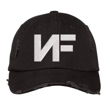 Nf Embroidered Distressed Cap