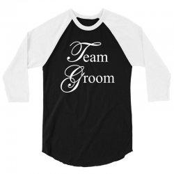 Team Groom 3/4 Sleeve Shirt | Artistshot
