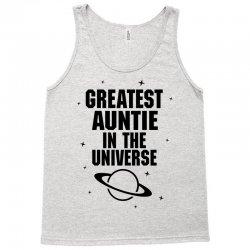 Greatest Auntie In The Universe Tank Top   Artistshot