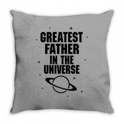Greatest Father In The Universe Throw Pillow | Artistshot