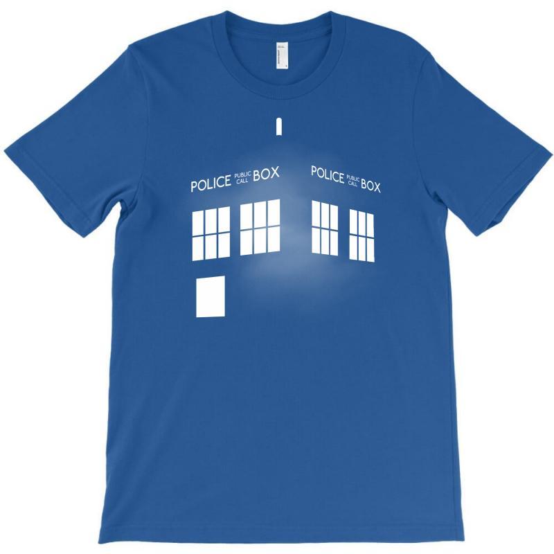 Tardis Doctor Who T-shirt   Artistshot