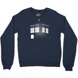 Tardis Doctor Who Crewneck Sweatshirt   Artistshot