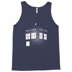 Tardis Doctor Who Tank Top   Artistshot