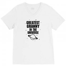 Greatest Granny In The Universe V-Neck Tee   Artistshot