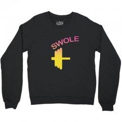 Swole Mates Couple Design Crewneck Sweatshirt | Artistshot