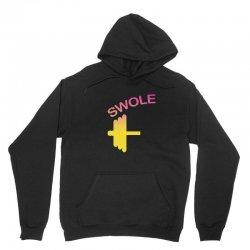 Swole Mates Couple Design Unisex Hoodie | Artistshot