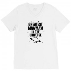 Greatest Mawmaw In The Universe V-Neck Tee | Artistshot