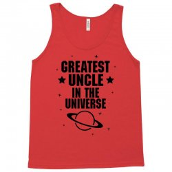Greatest Uncle  In The Universe Tank Top | Artistshot