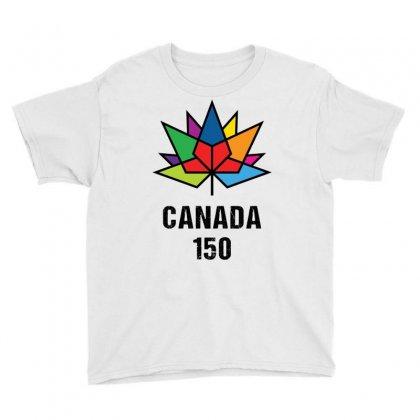 Canada 150th Anniversary Youth Tee Designed By Tshiart